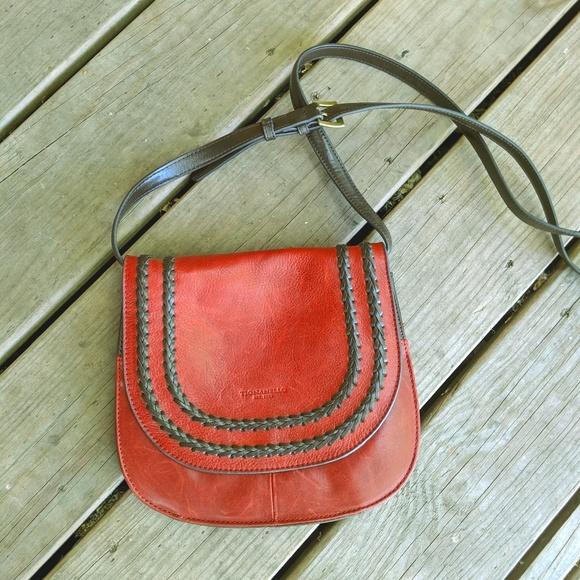 Tignanello Handbags - Tignanello Crossbody Saddle bag